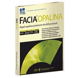PAPEL OPALINA MARFIL CARTA PAQUETE CON 100 COPAMEX