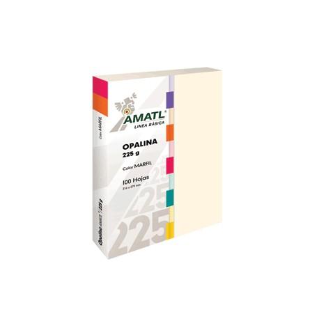 OPALINA AMATL MARFIL 225 GR CON 100 POCHTECA - Envío Gratuito
