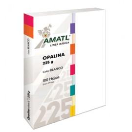 OPALINA AMATL BLANCA 225 GR CON 100 POCHTECA - Envío Gratuito