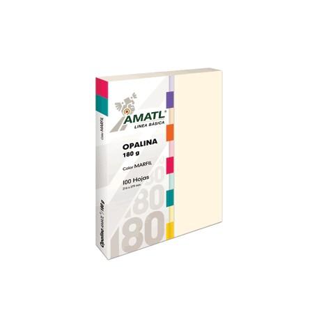 OPALINA AMATL MARFIL 180 GR CON 100 POCHTECA - Envío Gratuito
