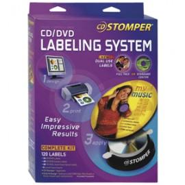 SISTEMA PARA ETIQUETAR CD/DVD CD STOMPER - Envío Gratuito