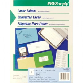 ETIQUETAS LASER PRESS-PLY CARTA AVERY BLANCAS 100 - Envío Gratuito