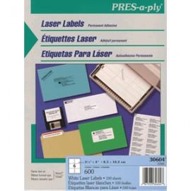 ETIQUETAS PRESS-PLY 3 1/3 X 4 AVERY CON 600
