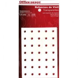 REFUERZOS PARA CARPETA OFFICE DEPOT TRANSPAR C/210