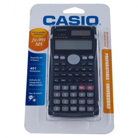 CALCULADORA CIENTIFICA CASIO FX991MS - Envío Gratuito