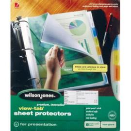 PROTECTOR DE HOJAS WILSON JONES COLOR 8 DIVISIONES - Envío Gratuito