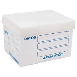 CAJA ARCHIVO CARTON PLAST PLASTICO CARTA - Envío Gratuito