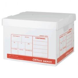 CAJA PARA OFFICE DEPOT ARCHIVO PLASTICO CARTA - Envío Gratuito