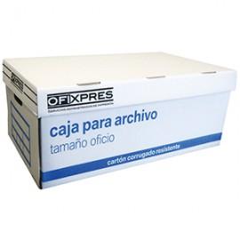 CAJA ARCHIVO OFIXPRES BLANCA - Envío Gratuito