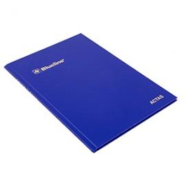 LIBRO DE ACTAS BLUELINE 50 HOJAS FORMA FRANCESA - Envío Gratuito