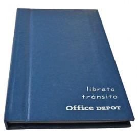 LIBRETA DE TRANSITO OFFICE DEPOT - Envío Gratuito