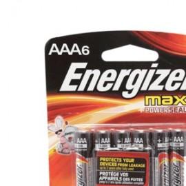 PILA ENERGIZER MAX AAA PAQUETE CON 4 - Envío Gratuito