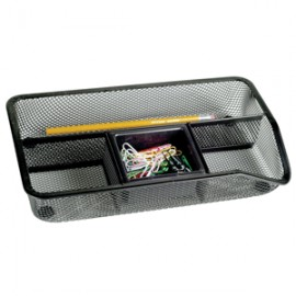 CHAROLA ORGANIZADOR MESH COLOR NEGRO OFFICE DEPOT