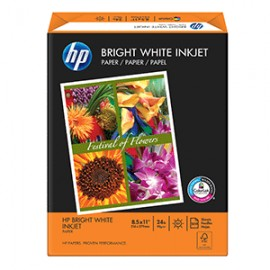 PAPEL BRIGHT WHITE CARTA RESMA CON 500 HOJAS HP
