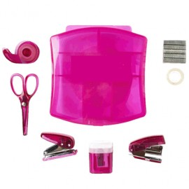 SET OFICINA RED TOP 9 ACCESORIOS MINI