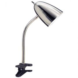 LAMPARA DE CLIP CROMADA - Envío Gratuito