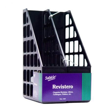 REVISTERO SABLON NEGRO PAQUETE C/2 - Envío Gratuito