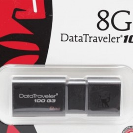 MEMORIA USB KINGSTON 8GB DT100G3 3.0 - Envío Gratuito