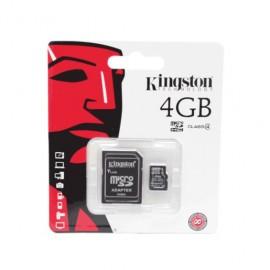 TARJETA KINGSTON MICRO SD 4GB - Envío Gratuito