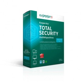 ANTIVIRUS KASPERSKY TOTAL SECURITY MD 2015 3 USER - Envío Gratuito