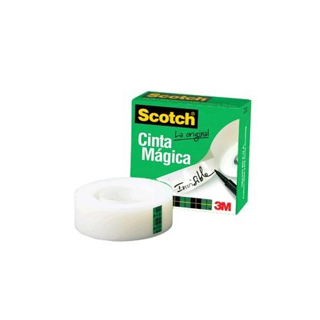CINTA ADHESIVA SCOTCH 810 MAGICA 12MM X 33M - Envío Gratuito
