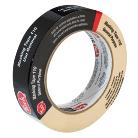 MASKING TAPE TUK 110 USO GENERAL 24MM X 50M PIEZA