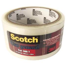 CINTA P/SELLADO SCOTCH TRANSPARENTE 48MM X 50M