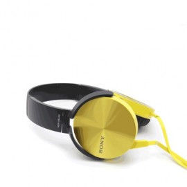 AUDIFONOS ON EAR SONY MDRXB450 AMARILLO - Envío Gratuito