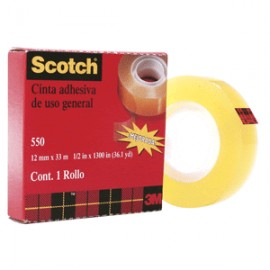 CINTA ADHESIVA SCOTCH 550 18MM X 33M