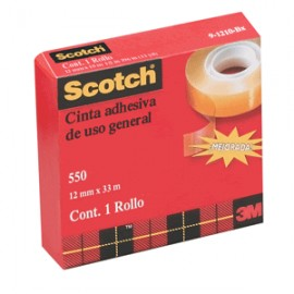 CINTA ADHESIVA SCOTCH 550 18MM X 65M