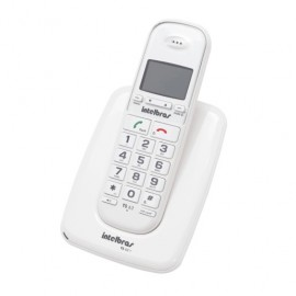 TELEFONO INALAMBRICO TS 63 BLANCO INTELBRAS - Envío Gratuito