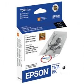 CARTUCHO EPSON TO63120 NEGRO - Envío Gratuito