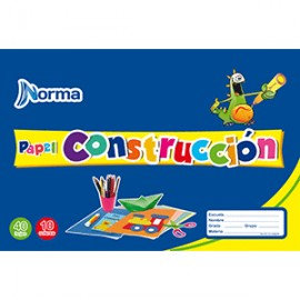 BLOCK CARTA NORMA PAPEL DE CONSTRUCCION - Envío Gratuito