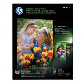 PAPEL FOTOGRAFICO HP CARTA CON 50 - Envío Gratuito