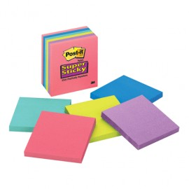 POST-IT SUPER STICKY ULTRA 3X3 6 PAQUETES